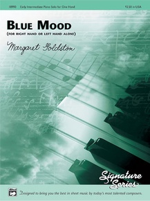 Blue Mood (for right hand or left hand alone)