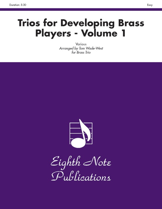 Trios for Developing Brass Players, Volume 1