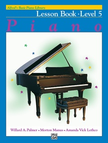 Alfred's Basic Piano Library: Lesson Book 5