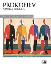 Prokofiev, Sonatas, Opp. 1, 14, 28, 29
