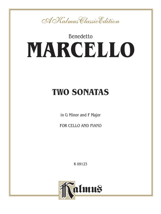 Two Sonatas in G Minor and F Major