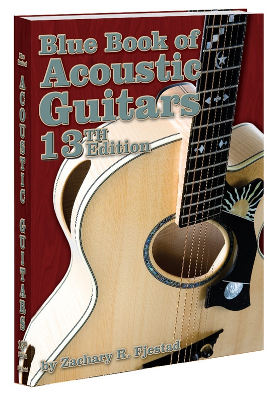 Blue Book of Acoustic Guitars (13th Edition)