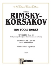 Two Vocal Works (Opus 52 and 53)