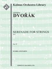 Serenade for Strings, Op. 22/B. 52