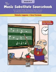 The Music Substitute Sourcebook, Grades K--3