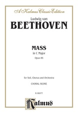 Mass in C Major, Opus 86