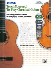 Alfred's Teach Yourself to Play Classical Guitar