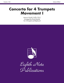 Concerto for 4 Trumpets (Movement I)