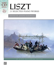 Liszt, 21 Selected Piano Works