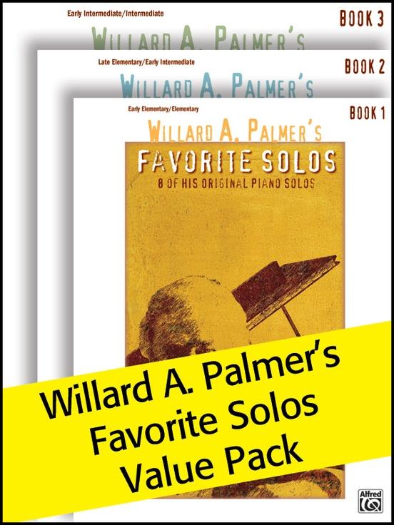 Willard A. Palmer's Favorite Solos 1-3 (Value Pack)