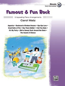 Famous & Fun Rock, Book 4