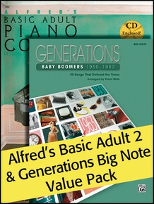 Alfred's Basic Adult 2 (Value Pack)
