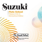 Suzuki Flute School CD, Volume 10 & 11 (Revised)
