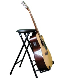The StagePlayer2 Guitar Stand and Stool