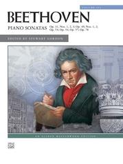 Beethoven, Piano Sonatas, Volume 3 (Nos. 16-24)
