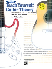 Alfred's Teach Yourself Guitar Theory