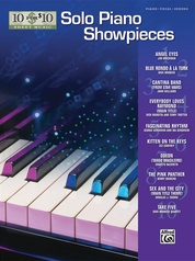 10 for 10 Sheet Music: Solo Piano Showpieces