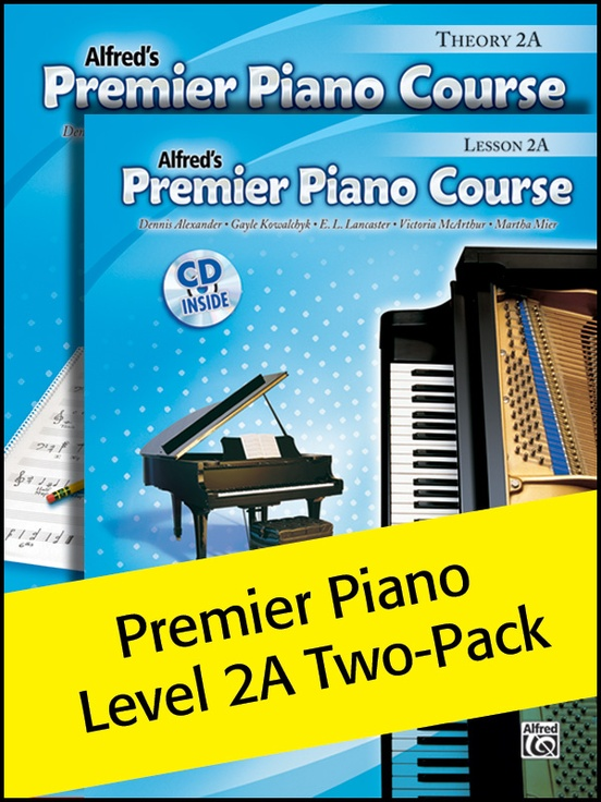 Premier Piano Course, Lesson & Theory 2A (Value Pack)