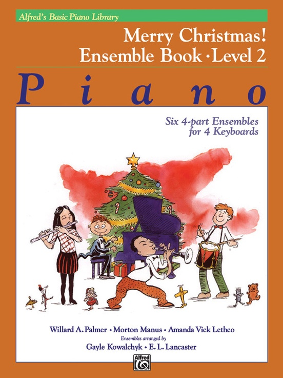 Alfred's Basic Piano Library: Merry Christmas! Ensemble, Book 2