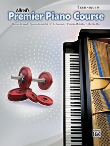 Premier Piano Course, Technique 6