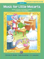Music for Little Mozarts: Notespeller & Sight-Play Book 2