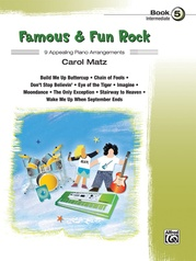 Famous & Fun Rock, Book 5