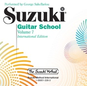 Suzuki Guitar School CD, Volume 7