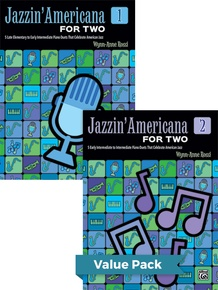 Jazzin' Americana for Two Books 1-2 (Value Pack)