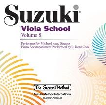 Suzuki Viola School, Volume 8