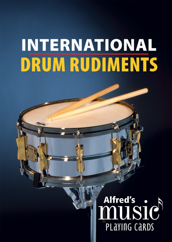 Alfred's Music Playing Cards: International Drum Rudiments