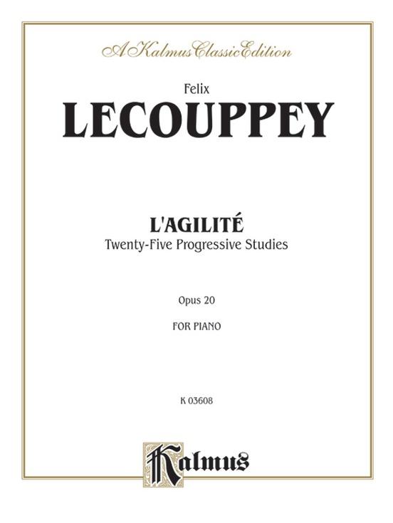 L'Agilite, Opus 20