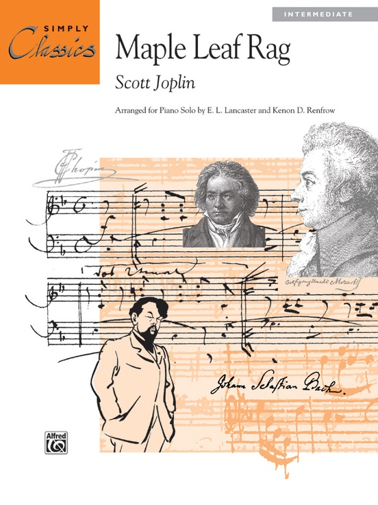 Maple Leaf Rag: Piano Sheet: Scott Joplin
