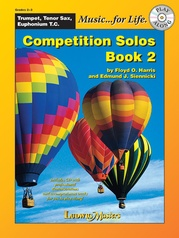 Competition Solos, Book 2 Trumpet, Tenor Sax or Euphonium TC