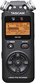 Tascam DR-05 Portable Handheld Stereo Recorder
