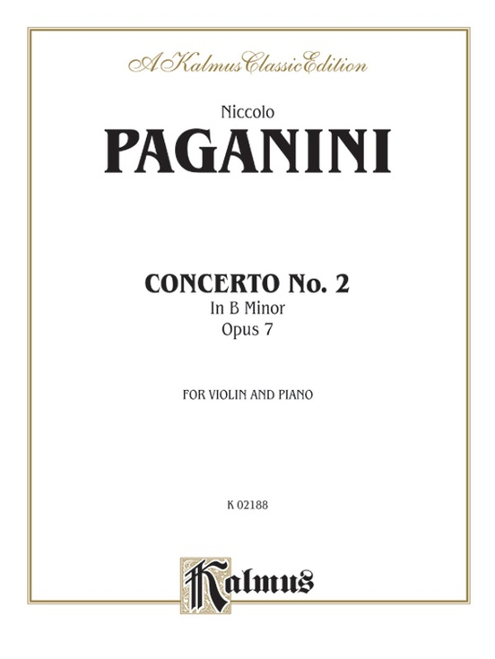Concerto No. 2 in B Minor, Opus 7