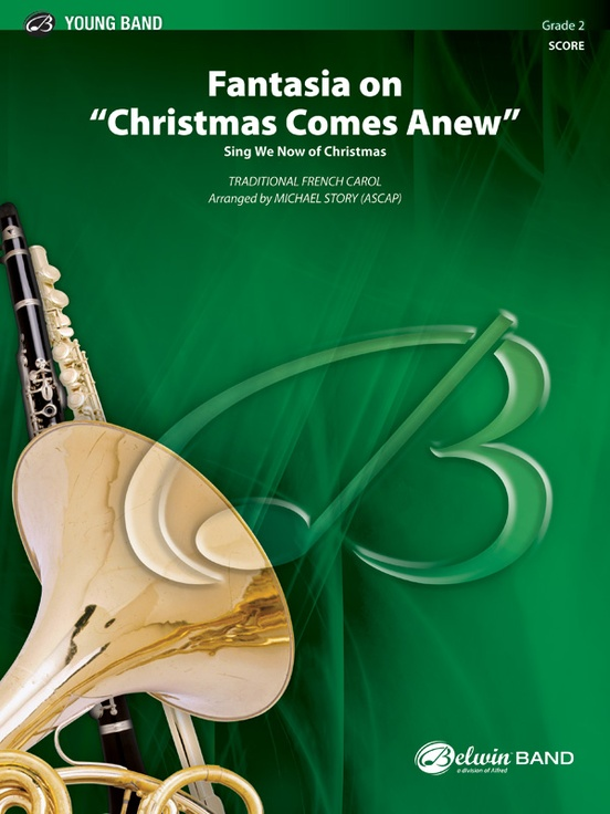 "Fantasia on ""Christmas Comes Anew"""