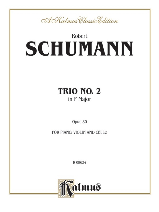 Trio No. 2, Opus 80