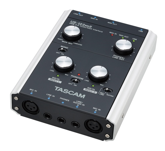 Tascam US122MKII USB Digital Interface