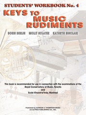 Keys to Music Rudiments: Students' Workbook No. 4
