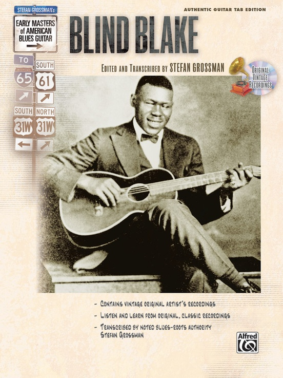 Stefan Grossman's Early Masters of American Blues Guitar: Blind Blake