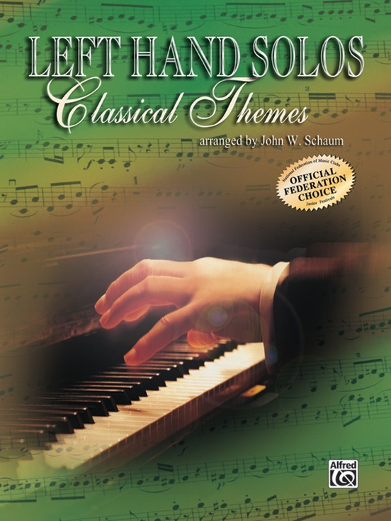 Left-Hand Solos, Book 1 (for left hand alone) Classical Themes