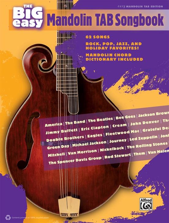 The Big Easy Mandolin TAB Songbook