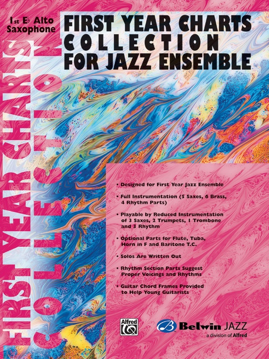 First Year Charts Collection for Jazz Ensemble