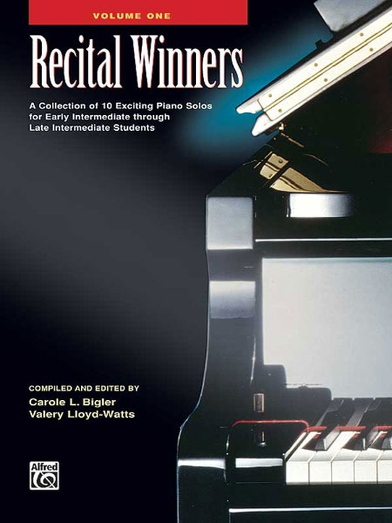 Recital Winners, Book 1
