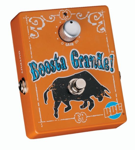 BBE Boosta Grande Boost Guitar Effects Pedal