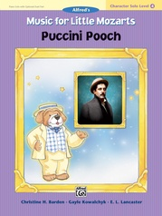 Music for Little Mozarts: Character Solo -- Puccini Pooch, Level 4