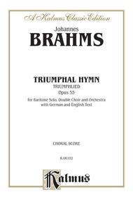 Triumphal Hymn (Triumphlied), Opus 55