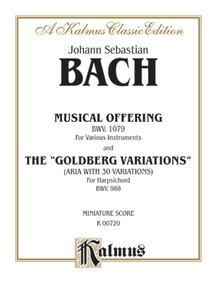 """The Musical Offering and The """"Goldberg Variations"""""""