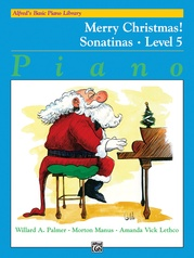 Alfred's Basic Piano Library: Merry Christmas! Book 5, Sonatinas