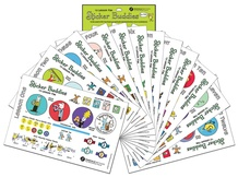 The Pascale Method for Beginning Violin: Sticker Buddies 12 Lesson Pak
